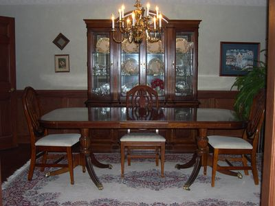 Oshkosh house rental - Formal Dining, seats up to 12