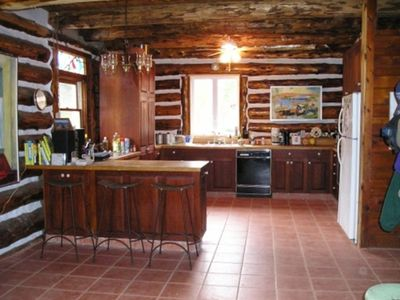 Large, well appointed Kitchen with cherry cabintry