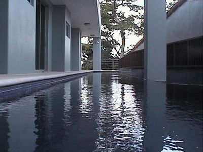 Lap Pool on the bedroom level