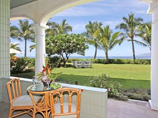 Lahaina condo photo - Your Lanai Patio is just 25 steps to Lahaina Beach.
