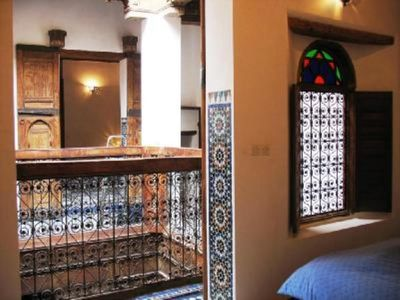 Traditional Moroccan House in the heart of the old medina of Fez, Morocco