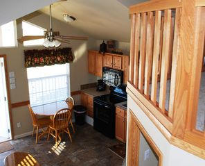 Grapevine cabin photo - A loft for the kids or overflow company...