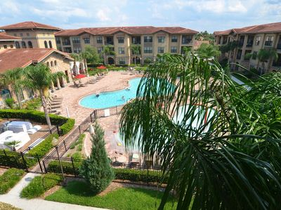 South Facing Condo Overlooking Pool Bella Piazza