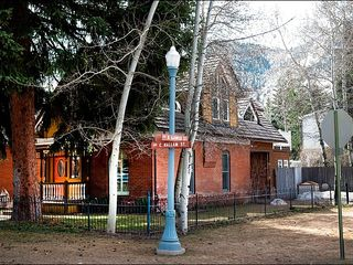 Aspen townhome photo - Front of Historic Victorian Home