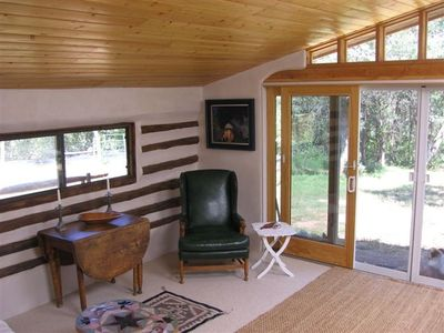 Abiquiu cabin rental - Living room