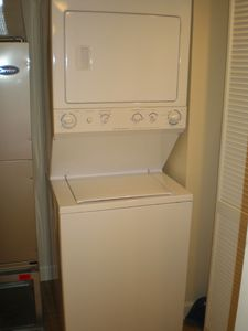 Washer dryer is in the condo - no laundramat.
