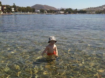 Gumusluk villa rental - The water is crystal clear in Gumusluk Bay