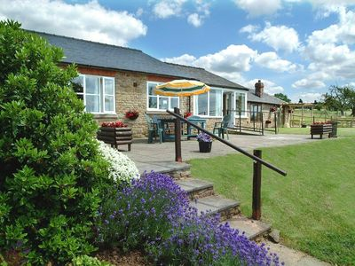 Malvern cottage rental - Hidelow Lodge from the garden