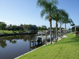 Cape Coral house photo - Canal view