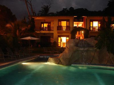 5. Pool at Night