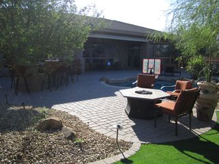 Scottsdale house photo - Additional View of backyard