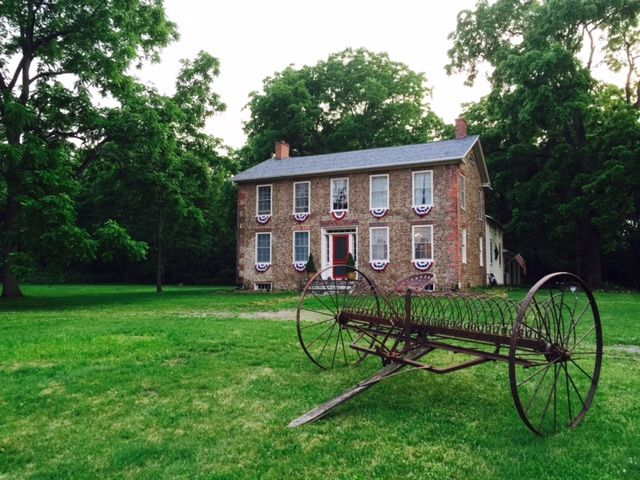Historic Bullis House 1839 Cobblestone Near Hill Cumorah