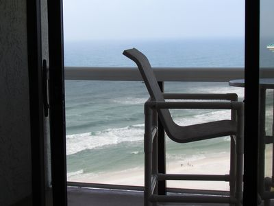 Wake up to this view while lying in bed!