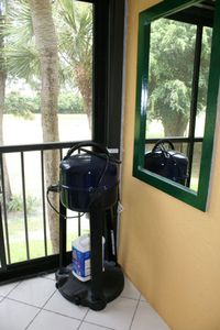 Delray Beach condo rental - Balcony 3 - Electric Grill