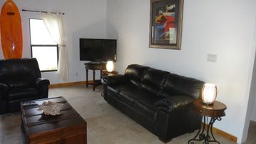 Villa living room, 47' TV, DVDs, Wifi Internet, Ipod dock Stereo