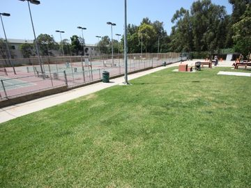 Adjacent Tennis Courts