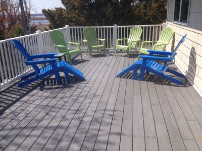 Sunbather's dream deck, very private
