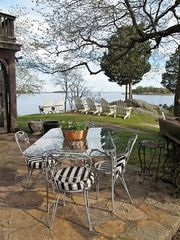Branford house photo - patio dining for 4 or 14