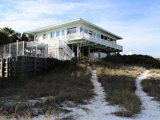 Vista Dunes with sandy beach path to beach - Grayton Beach house vacation rental photo