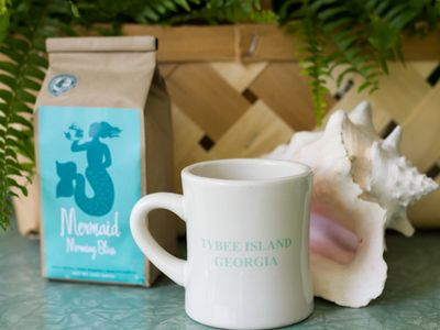 Enjoy Mermaid Morning Bliss Coffee at Enlisted Mens' Mess Hall & Screened Inn!