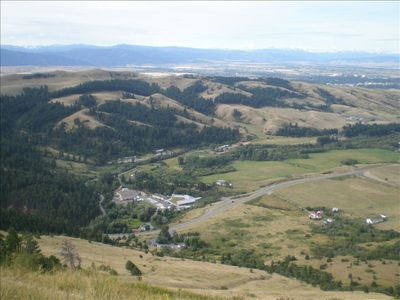 "View of Bozeman from the ""M"""