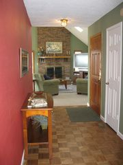 Asheville house photo - Front hall/entranceway