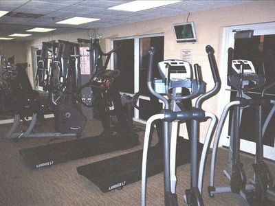 Complimentary Exclusive Luau Fitness Center