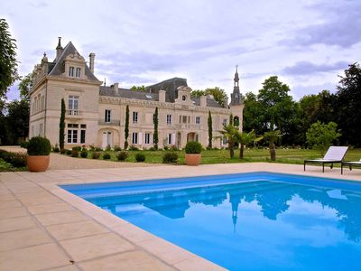 Foussignac castle rental - .