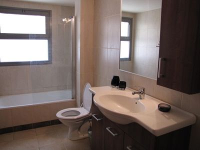 Tel Aviv apartment rental - Bathroom