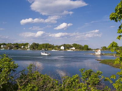 Kennebunkport house rental - Cape Porpoise Harbor from Langsford Road