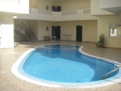 Pool right on the doorstep