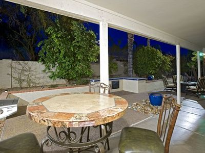 Kierland Scottsdale house rental - Outdoor Pub Table - And BBQ