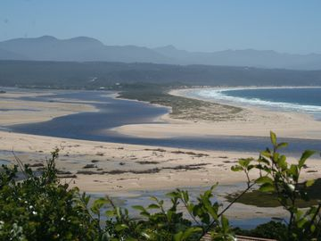 Overview over Plettenberg Bay