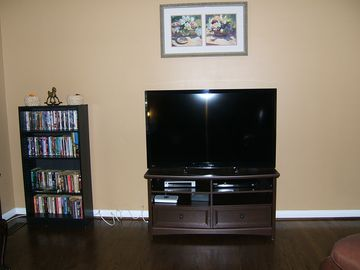 "New 50"" LCDHD TV, Extended cable with Encore movie channel, Versus and On Demand"