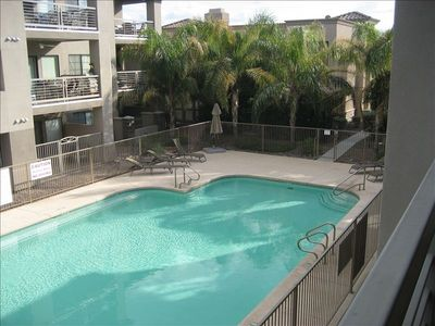 Paradise Valley condo rental - Pool Area viewed from Patio
