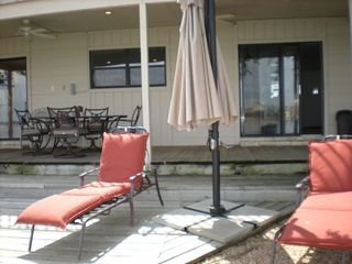 Horseshoe Bay house photo - Relax under the covered porch or in the sun