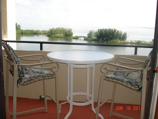 Hudson condo photo - TERRACE OVER LOOKING THE GULF OF MEXICO