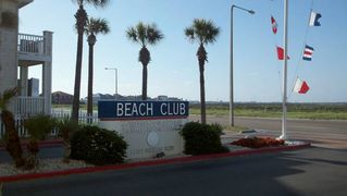 Corpus Christi condo photo - Entry sign into Beach Club