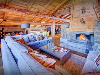 Pamper yourselves at 5* chalet with spa centre and concierge - SnowLodge