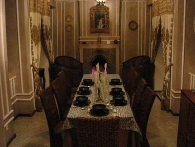 dining room for a special occasion