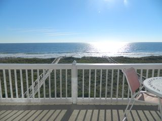 Carolina Beach condo photo - Wow, what a great view! I could sit here all day.