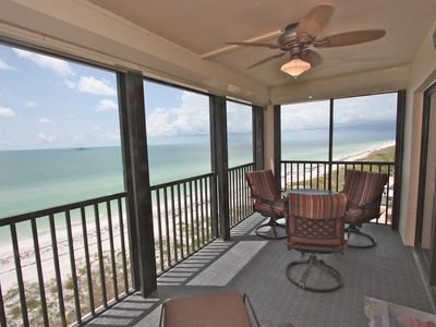 Beautiful Private Patio with Seating for 4-6 Overlooking The Amazing Gulf of Mexico