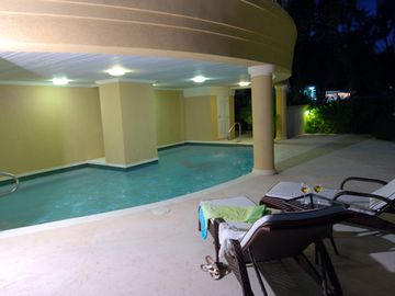 Covered pool for residents and guests