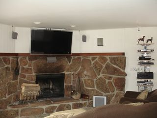 Stone fireplace, 46' LCD, PS3, Wii, surround sound - Winter Park Dog Friendly - Fraser house vacation rental photo