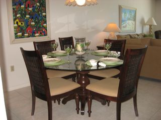 Indian Harbour Beach condo photo - Dining area seats six