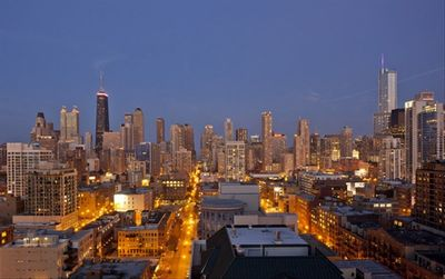 Chicago Skyline Views especially stunning at night