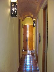 Loreto house photo - Front hallway with vaulted brick ceiling