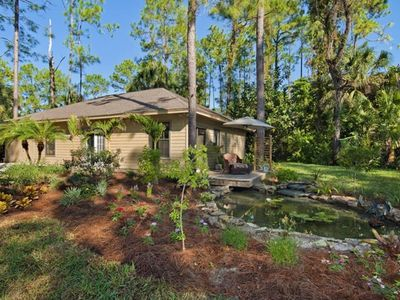 Front of bungalow