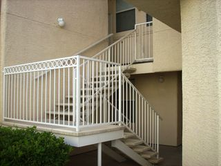 Las Vegas condo photo - Easy to Manage Stairs Leading to Garage