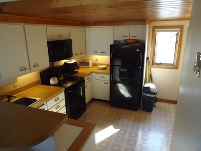 Gilford townhome rental - kitchen with all new appliances